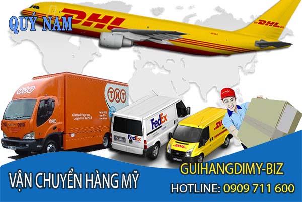 Dịch vụ vận chuyển hàng Mỹ