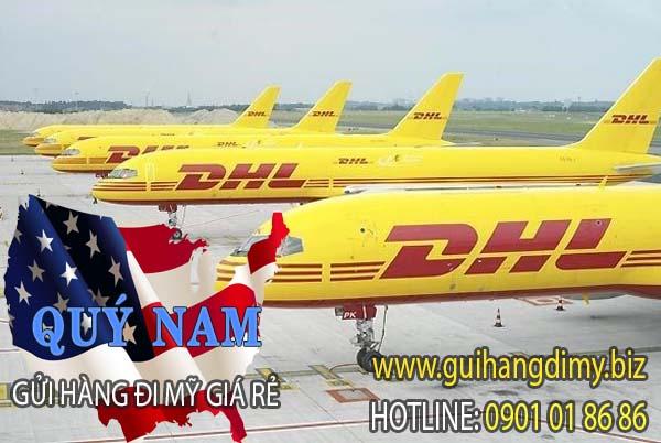 Gửi hàng đi Mỹ DHL