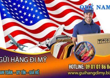 An tâm với dịch vụ gửi quần áo đi Mỹ của Quý Nam