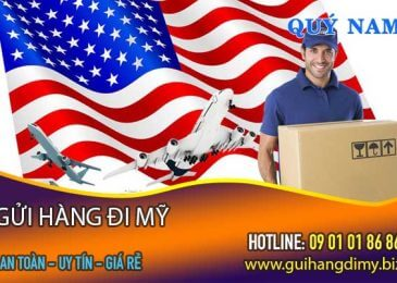 Bảng giá gửi hàng đi Mỹ tại TPHCM Tháng 8 – chỉ từ 6.5 USD/Kg