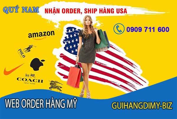 Nhận order hàng Mỹ