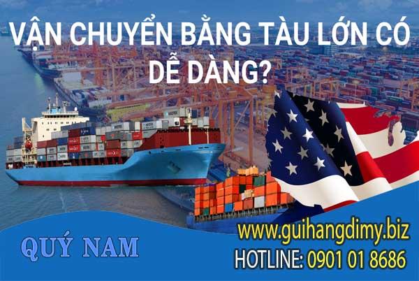 Gửi hàng đi Mỹ bằng du9uong72 biển