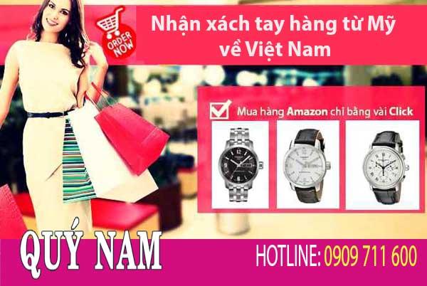 Xách tay hàng Mỹ về Việt Nam