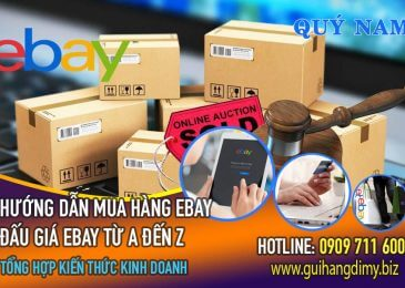 Đấu giá trên eBay là gì? Hướng dẫn đấu giá eBay thắng 99%