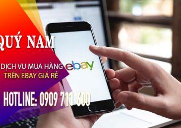 Dịch vụ mua hàng eBay giá rẻ số lượng lớn ship về Việt Nam