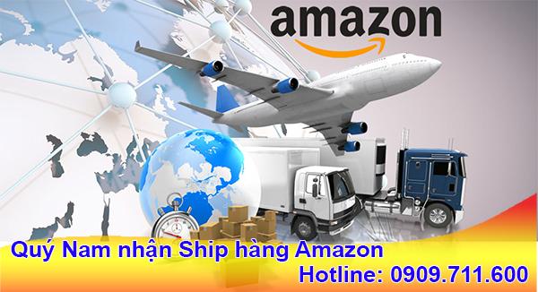 Nhận ship hàng Amazon