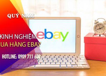 Bật mí những kinh nghiệm mua hàng Ebay ít ai biết