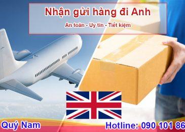 Gửi hàng đi Anh bằng đường biển và đường hàng không giá rẻ