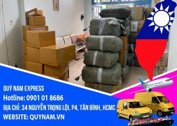 Nhận gửi hàng đi Đài Loan giá rẻ, miễn phí đóng gói