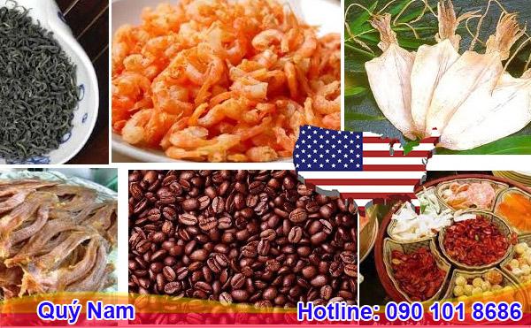 Bạn có thể gửi mực khô, miến khô, mì gói, mì sợ, bánh tráng… đi Mỹ