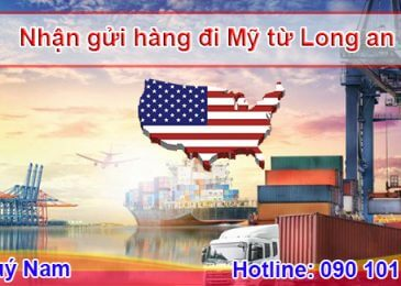 Làm thế nào để gửi hàng đi Mỹ tại Long An nhanh chóng nhất?